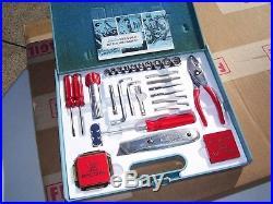 Vintage 60s original rare Ford Tool kit promo screwdriver socket wrench set NOS
