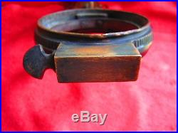 Vintage Antique Ornate Brass Oil Kerosene Lamp Wall Bracket, Home, Railroad, Ship