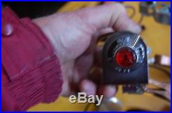 Vintage Grote automobile accessory Hazard warning switch light lamp kit nos