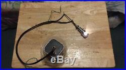 Vintage Harley Knucklehead Panhead Indian Corbin DASH LAMP Speedometer Light WOW