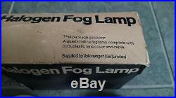 Vintage Hella 140 chrome fog lights fog lamps VW Porsche Mercedes