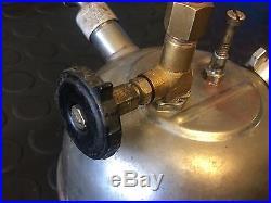 Vintage Hipolito Petromax Paraffin Kerosene Lamp 150 CP for parts good condition