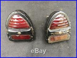 Vintage Lucas Cathedral Rear Lamps Suit Classic Car/ Rolls-Royce/ Bentley ETC