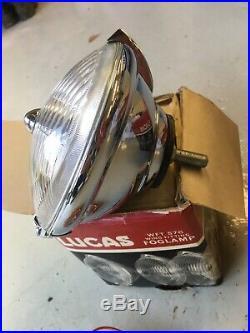 Vintage Lucas Wft576 Fog Lamp Mini Cooper Escort
