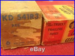 Vintage Nos Marker Lamps Camper Trailer Truck Stake Bed Ford Dodge Do-ray 415