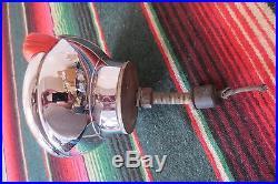 Vintage Original Accessory S&M LAMP CO. 470 Fog Driving Light Lamp 1940s Amber