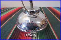 Vintage Original Accessory S&M LAMP CO. 670 Fog Driving Light Lamp 1940s Amber