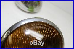 Vintage Original S&M Lamp Company Fog Lamps Hot Rod Rat Rod