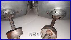 Vintage Pair of ELECTROLINE 2200 Headlights Hot Rat Rod V8 1932 1933 34 Roadster