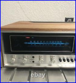 Vintage Pioneer SX-6000 Stereo Receiver New LED Lamps. For Parts Or Restoration