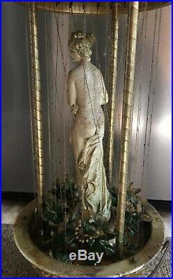 Vintage Rain Lamp Creator's Inc Goddess Table Rain Oil Lamp 32 Wow! (parts/fix)