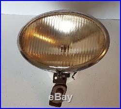 Vintage S&M Oval-Lite Driving Light Head Lamp Spotlight Rat Rod Hot Rod 5630