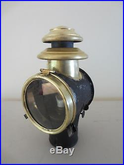 Vintage automobile oil lamp for Citroen De Dion Renault Delage Delahaye Peugeot