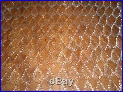 Vintage lot of 200 tear drop glass prisms 2 FOR CHANDELIER LAMP PART