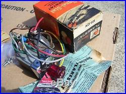 Vintage nos Flarestat 105 hazard switch service lamp auto gm street rat rod amc