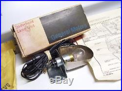 Vintage nos original chevy GM underhood lamp light kit Guide auto part in box