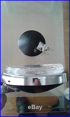 Vintage oem chrome bosch halogen fog light lamps w113 pagoda NOS