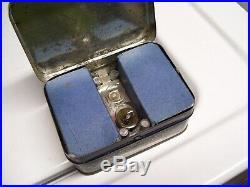 Vintage original nos 1940s GM chevy pontiac automobile bulb kit lamp tin box can
