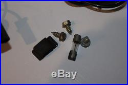 Vtg NOS GM original Accessories Hobbs under hood lamp light Chevy Pontiac 60s
