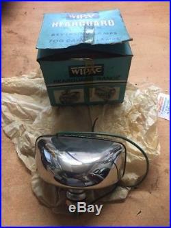 Wipac vintage spotlight fog lamp classic car nos